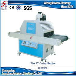 Screen Printing Ink UV Curing Machine for Post-Press Equipment