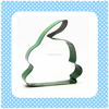Easter Festival Rabbit Shape Colorful Coating Stainless Steel Cookie Cutters