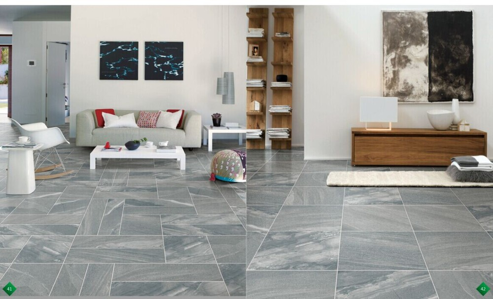 Living Room Antiskid Porcelain Tiles Rustic Porcelain Floor Tiles ...