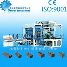The constuction equipment brick making machine price list
