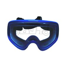BJ-MG-002 Manufacture Flexible Design Cheap Blue Color Scooter Racing Dirt Mountain Bike ATV Riding Safety Goggles