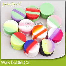 Alibaba wholesale FDA pure eco-friendly silicone jars dab wax container support OEM See larger image China supplier 100% FDA