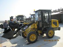 WL16 2015 nueva marca de hotsell mini cargador de la rueda 1.6 ton 45/48kw capacidad hidráulica para las ventas