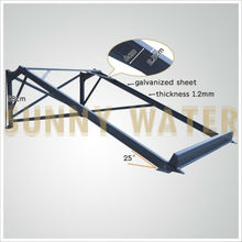 Popolar solar water heater bracket,solar water heater for frame with 1.2thickness