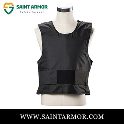 High Quality Concealable Stab Knife Proof Vest Bulletproof Vest Body Amor Size XL