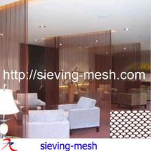 restaurant divide curtain mesh / metal divide curtain / dinning room separate mesh
