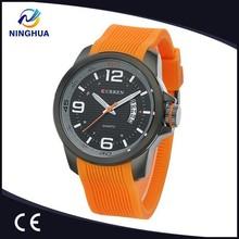 CURREN M8174 Man Sports Watches Water Resistance Mens Watches Top Brand Luxury Relogio Masculino Quartz Watch Silicone Band
