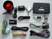 DLS high quality 2 way car alarm system with LCD remote vehicle car alarm system