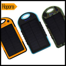 12000Mah Portable Waterproof Solar Charger for Mobile Phone