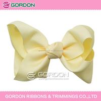 new design decorative stocking hair ribbon flowers for women