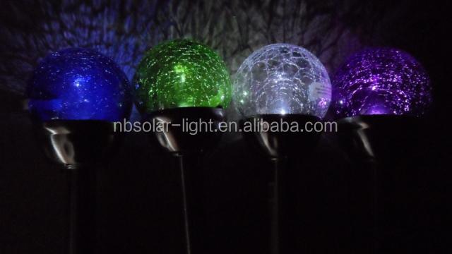 Charmant Multi Colored Solar Garden Lights