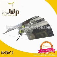 mh/hps lamp wing reflector/ green house indoor grow light reflector/ grow light aluminum light fixture reflectors