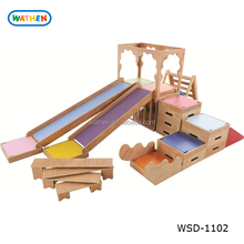 Imported Solid Wood Kids Playground Indoor