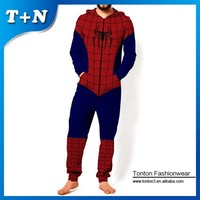 OEM polyester spandex heat transfer jumpsuits with own design
