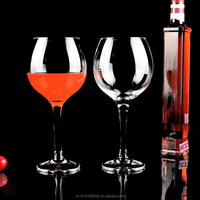 Barbera, Barolo/Burgundy Wine Glasses crystal wine glass with stem Lead-free crystal round ball goblet