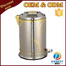 10L stainless steel waste bins