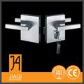 fábrica 304 correderas de cristal cerradura de la puerta de acero inoxidable en la venta