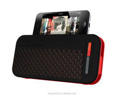 2015 bluetooth speaker stereo Power Bank 5000 mah with Stand with Hands free talk/ phone-call function
