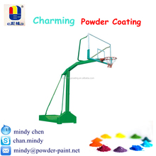 UV impact resisitant exterior polyester powder coating for basketball stands