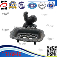 Customized hot cast iron soap dish