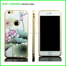 high quality anti-radiation custom printing waterproof silicon cell phone case