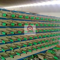 Nylon Polyester PP PE Plastic tape extrusion machine Yarn winding machine