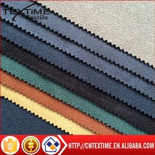 polyester suede fabric suede leather for sofa glove