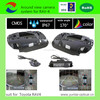 360 degrees around view security camera system with 4 channel recording