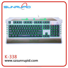 Private Mold, Wired Backlit Gaming Keyboard, Similar to mechanical keyboard with good price