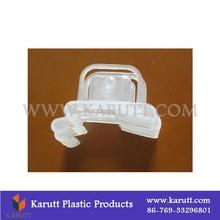 Rack net clear plastic hooks, custom display hooks plastic