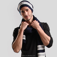 Beanie Hat Cap with Stereo Headphone Headset Earphone Speaker Microphone Hands Free Talking for iPhone Samsung Android Smartphon