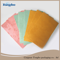 2015 new rose pattern colored pearlescent paper envelope