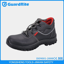 GuardRIte conductive black steel safety shoes