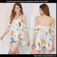 ladies elegant model silk blouses