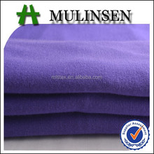 Mulinsen Textile Hot Sale Knitted Ring Spun 30s Rayon Viscose Spandex dyed Fabric for sportswear