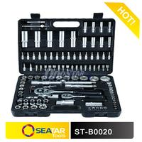 "2014 Hot Sale 108 PCS Automotive Hand Tool Function 1/4""&1/2""DR.Socket Set"