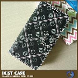 Fancy design customized Wallet cover Case For LG L Bello D331 flip leather case