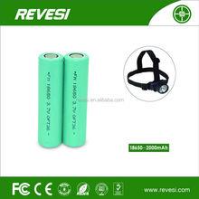 REVESI rechargeable 18650 1.5v aa rechargeable li-ion battery
