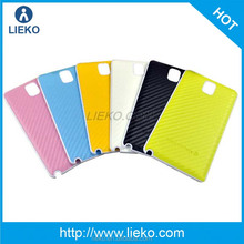 for samsung note3 battery cover & carbon fiber phone cover