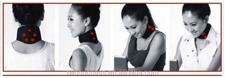 Health Ease Pain Self Heating Neck Support Magnetic Neck Brace Pads .jpg