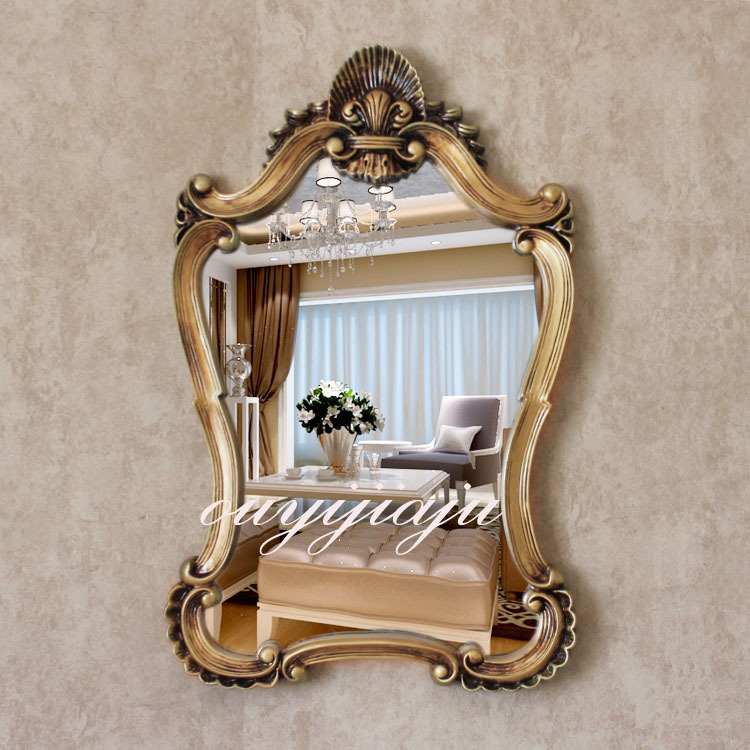 Book of bathroom mirrors vintage in us by emma for Large fancy mirrors