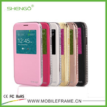 Luxury Leather Flip Mobile Phone Case for Samsung Galaxy Note 3