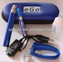 ego Zipper kit vaporizers1100mah Battery CE5 Atomizers no wick BLUE ZIPPER 1