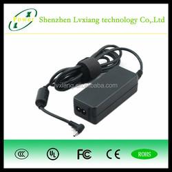 for hp 18.5v 3.5a adapter hp 42W with GS CB CE UL KC FCC ROHS SAA, Shenzhen manufacture