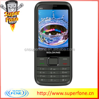 """Cheap mobile phones China L900 2.8"""" Screen Quad band Slim phone with JAVA/Facebook WhatsAPP with Holster"""