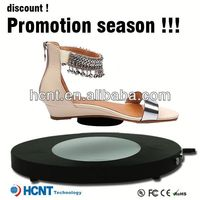 new invention ! magnetic levitating led display stand for shoe woman,maz shoes