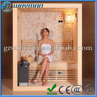 China Factory near infrared sauna room make you body slimming and beauty