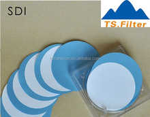 25mm membrane filter/DISC filter /MCE membrane for lab