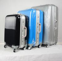PC Alum frame hard Plastic Suitcase