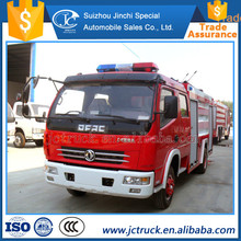 Hot China New 5CBM inflatable fire truck slide for sale